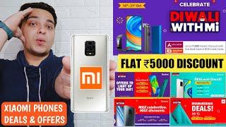 Diwali With Mi | Xiaomi Smartphone Deals & Offers | Redmi Note 9 Pro, Note 9, Note 9 Pro Max & Mi 10