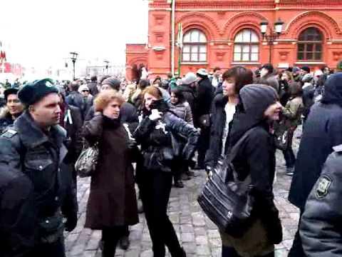 Russia Protest Red Square Gates 01.04.2012