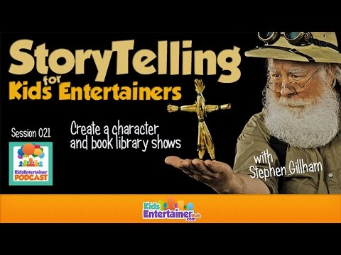 Storytelling Techniques for Kids Entertainers