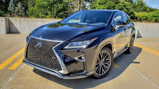 2018 Lexus RX350 F-Sport Review