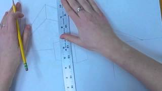 How to Draw 2-Point Perspective: Boxes