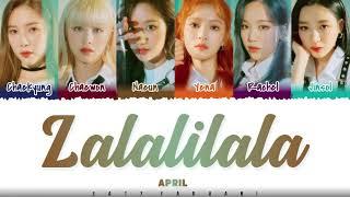 Baixar APRIL  – 'LALALILALA' Lyrics [Color Coded_Han_Rom_Eng]