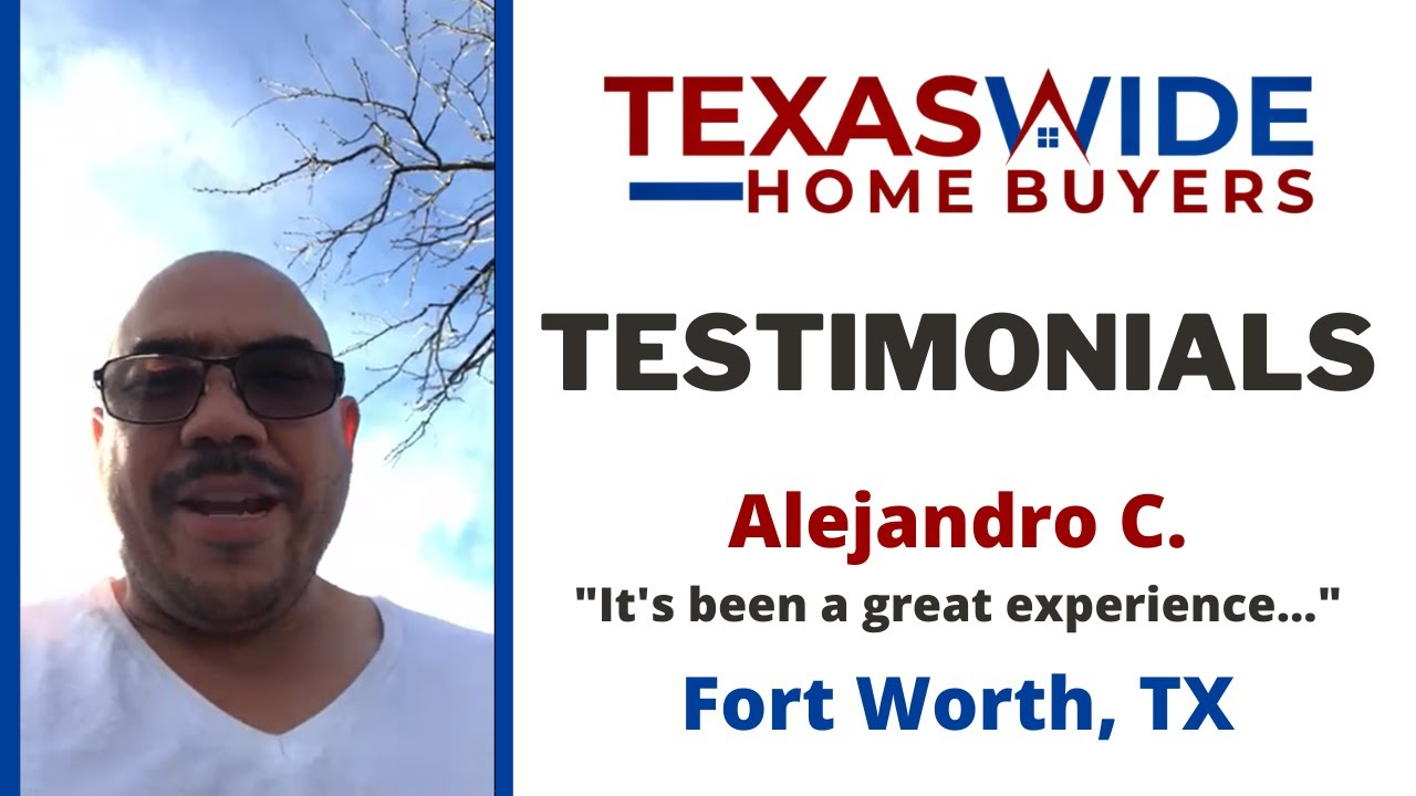 Testimonials: Alejandro C. | Fort Worth, TX