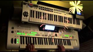 orchard road - leo sayer - remixed on tyros 3 and some vst plugins