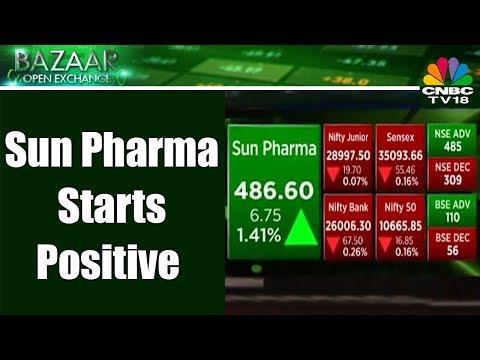 Sun Pharma Starts Positive | Opening Bell (18th May) | Bazaar Open Exchange (Part 2) | CNBC TV18