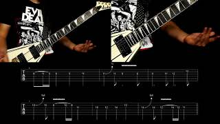 EXMORTUS - VICTORY OR DEATH! (Guitar Instruction)