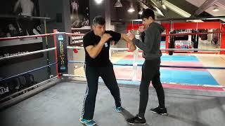 Τρίτο μάθημα πυγμαχίας με τον Γιώργο Στεφανόπουλο