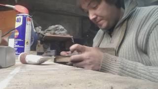 Нож ручной работы за 11 минут, от заготовки до ножен.(Видео, как я делаю свои ножи. Моя почта для связи: msuyanov@gmail.com Моя группа в VK: https://vk.com/sajt_nozhej., 2017-01-21T07:40:37.000Z)