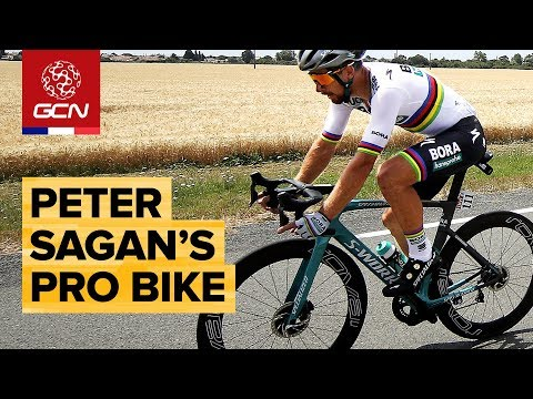 Peter Sagan's Custom Specialized S-Works Venge Disc