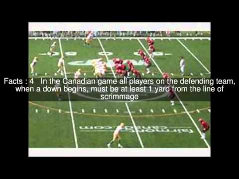 Canadian football Top  #12 Facts