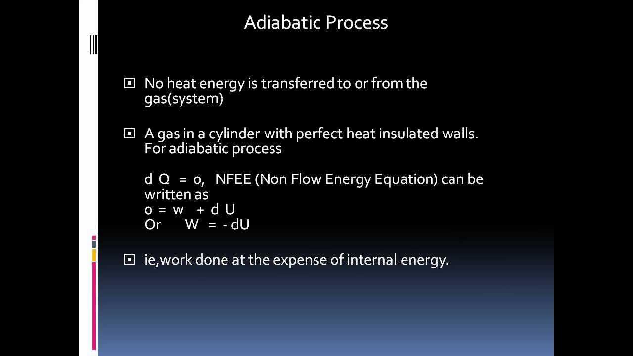 Define Isothermal  U0026 Adiabatic Processes