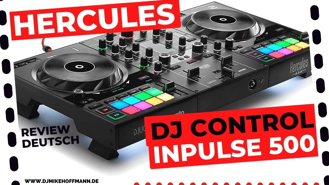 Hercules DJ Control Inpulse 500 DJ Controller   Review