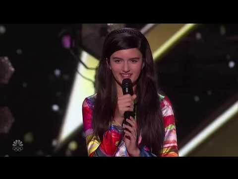 America's Got Talent The Champions 2020 Angelina Jordan Golden Buzzer Full Performance S2E01