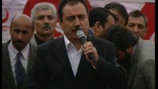 Muhsin Yazıcıoğlu Maraş Çağlayancerit mitingi sonrası helikopter düştü.