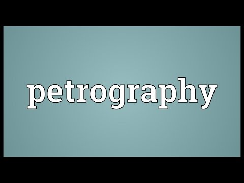 Header of petrography