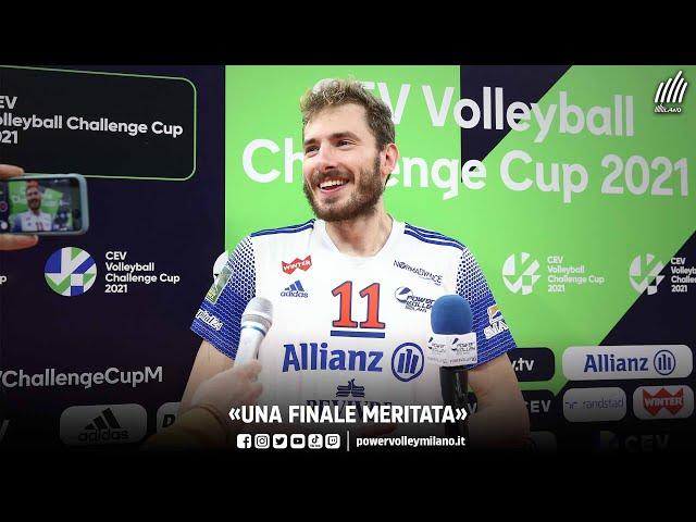 CEV Challenge Cup, intervista post Milano - Ankara di Matteo Piano
