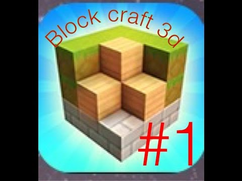 Block craft 3d i got my village youtube for Block craft 3d games
