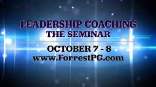 Jason Forrest: Leadership Coaching | The Seminar