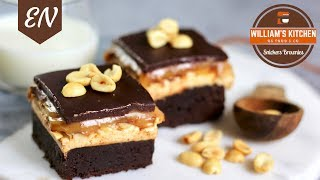 Snickers Brownies Recipe || William's Kitchen