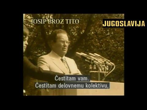 """Josip Broz TITO govori radnicima – """"Ja sam ovde radio na turbinama kao i vi!"""" LITOSTROJ 1975"""