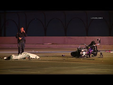 Double Fatal Crash / Santa Fe Springs     RAW FOOTAGE