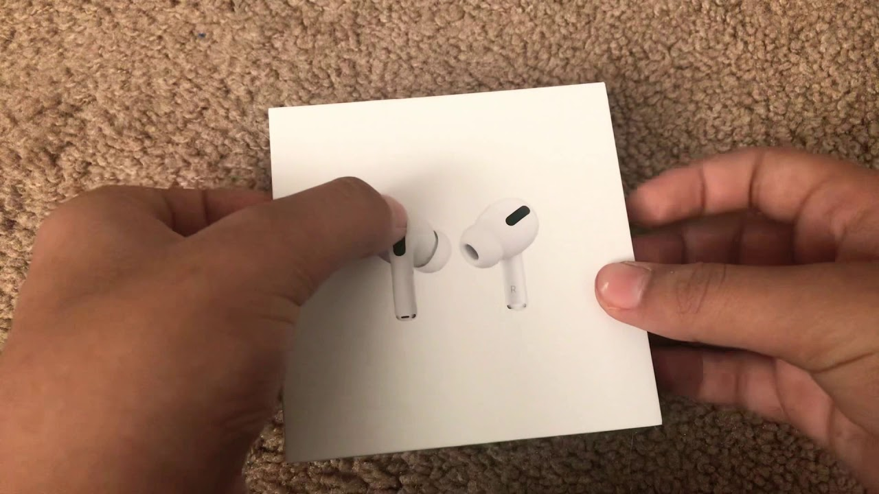 ASMR Airpods pro unboxing