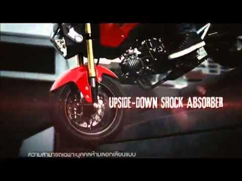 Honda MSX125 - Official Video