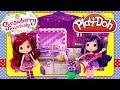 Strawberry Shortcake PLAY DOH Sweet Beats Stage Cherry Jam Doll Concert Real Music Songs