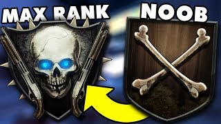 ROAD TO SHOTGUN RANK (MAX RANK) Call of Duty Black Ops 2 Zombies