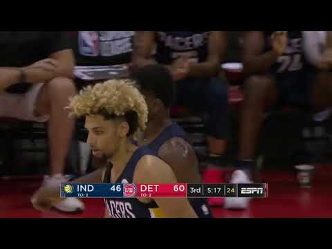 NBA Summer league 2019 Detroit pistons vs indiana pacers highlights