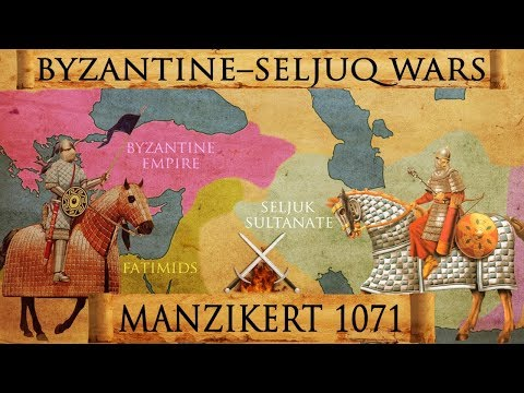 Battle of Manzikert 1071 - Byzantine - Seljuq Wars Documentary