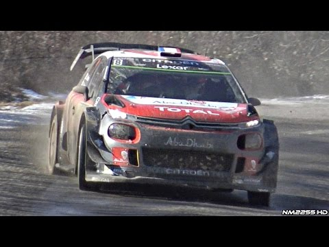 Rallye Monte Carlo WRC 2017 Day 3 - WRC Cars High Speed Fly Bys!!