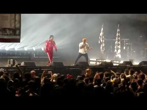 Kendrick Lamar and schoolboy q - X - live (championship tour Seattle)