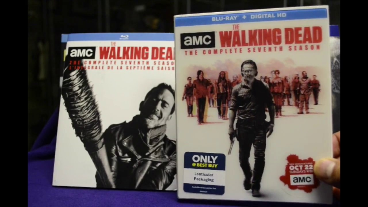 The Walking Dead Season 7 Best Buy Exclusive Blu Ray Unboxing Youtube