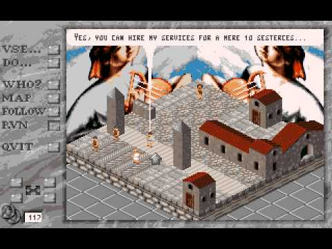 Rome AD 92 - Pathway to Power Longplay (Amiga) [50 FPS]