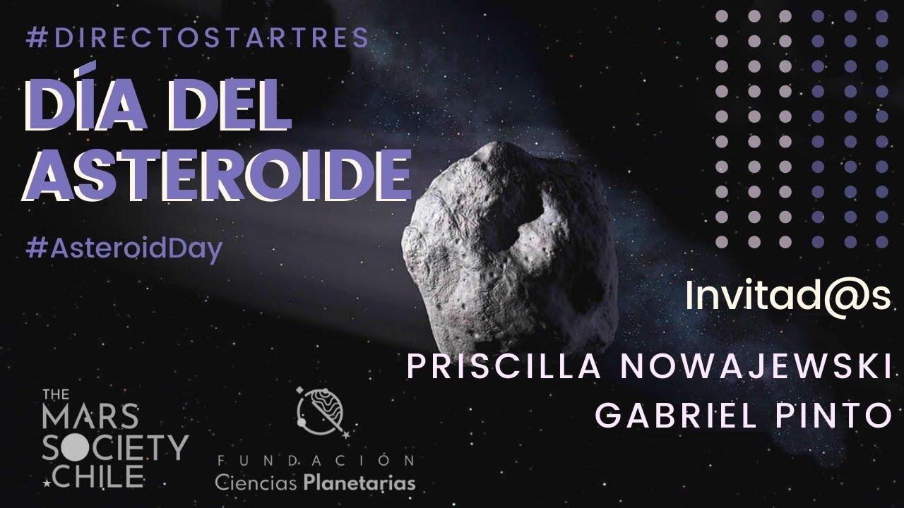 #DirectoStarTres Día del Asteroide