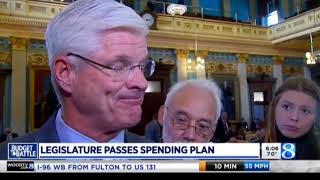 Michigan Legislature sends budgets to governor
