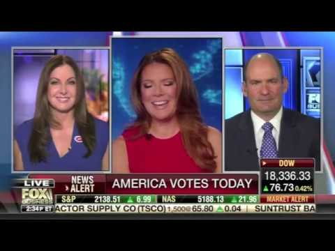 Historically Blue States Switching to Red - Leslie Marshall on The Intelligence Report 11/8/16