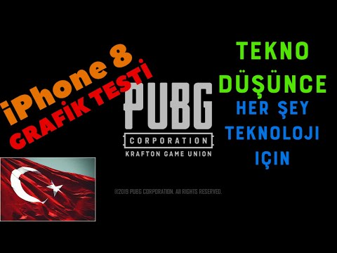 IPhone 8 PUBG GRAFİK TESTİ