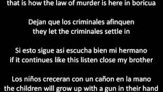 Vico C La Recta Final con Letra/Lyrics ENGLISH AND SPANISH