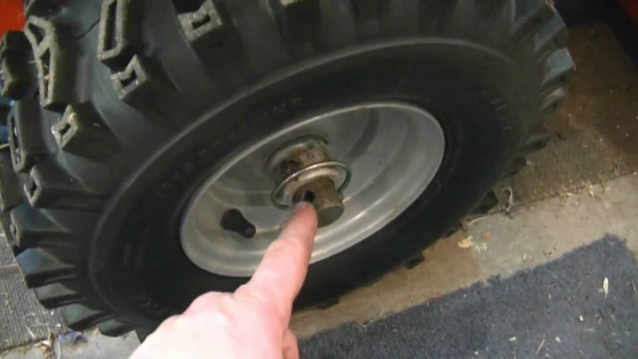 Axle Ring With Holes