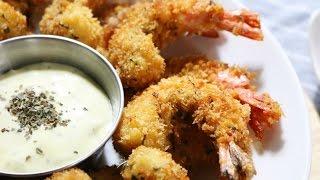 바삭바삭 새우튀김 레시피 How To Make Fried Shrimp(saeu Twigim) - Suna