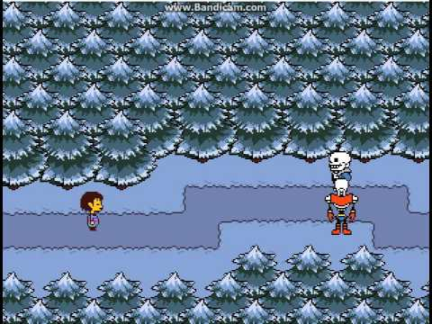 Как победить снегоцыпа в undertale