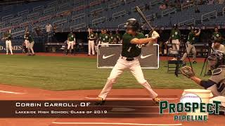 Corbin Carroll Prospect Video, OF, Lakeside High School Class of 2019