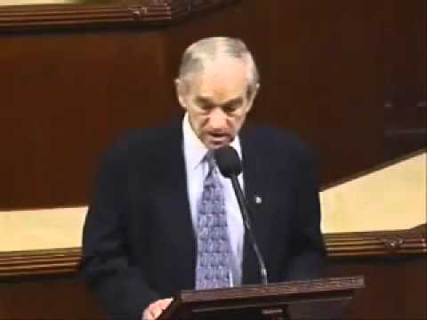 "Ron Paul's famous  ""What if""  speech"