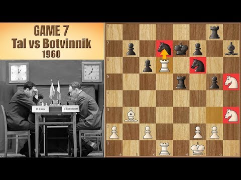 Most Unexpected Turn of Events | Tal vs Botvinnik 1960. | Game 7