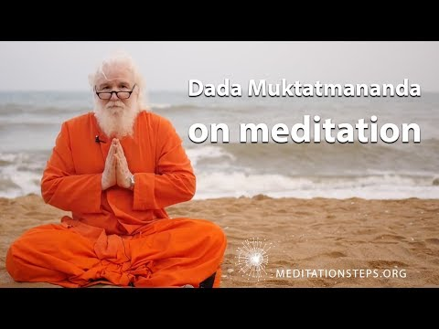 Dada Muktatmananda on meditation