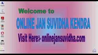 HOW TO APPLY NEW PAN CARD AT ONLINEJANSUVIDHA.COM