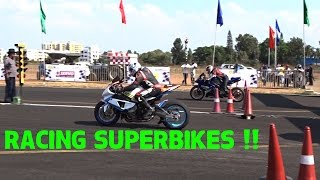 Superbikes Drag Racing in Vroom | India | # 137