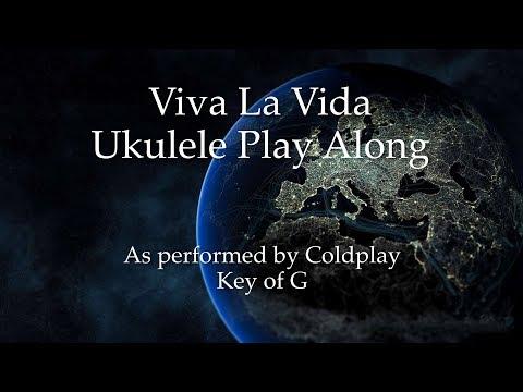 Viva La Vida Ukulele Play Along